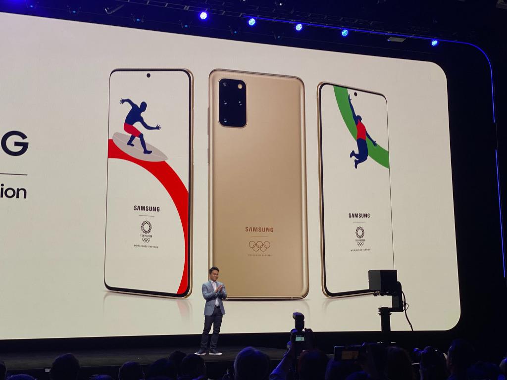 Le Galaxy S20+ 5G Olympic Edition prévu initialement