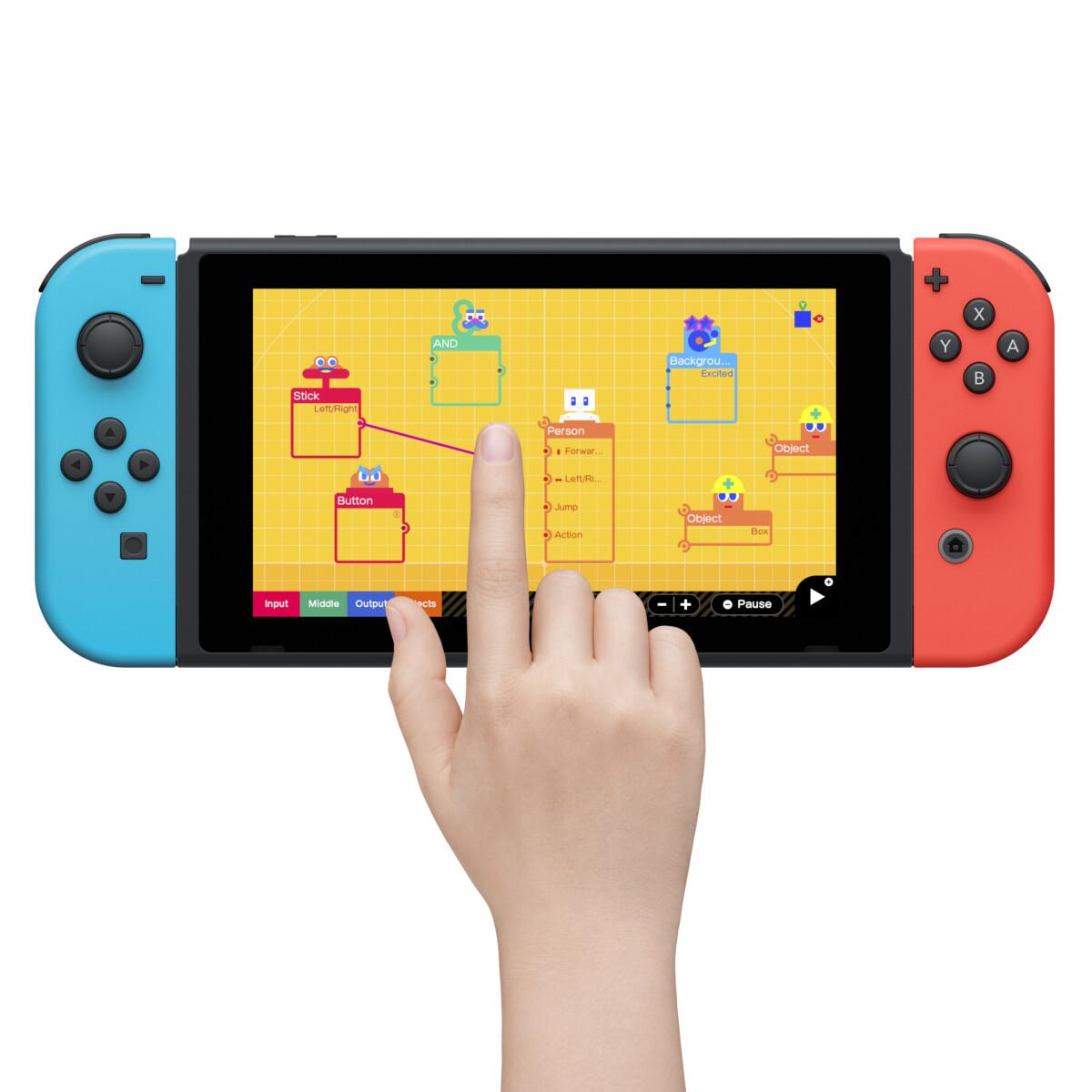 L'Atelier du jeu vidéo arrive sur Nintendo Switch