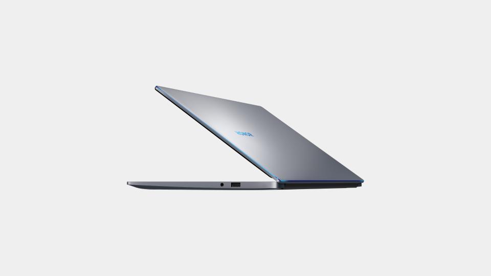Le bandeau bleu, caractéristique des PC portables de chez Honor
