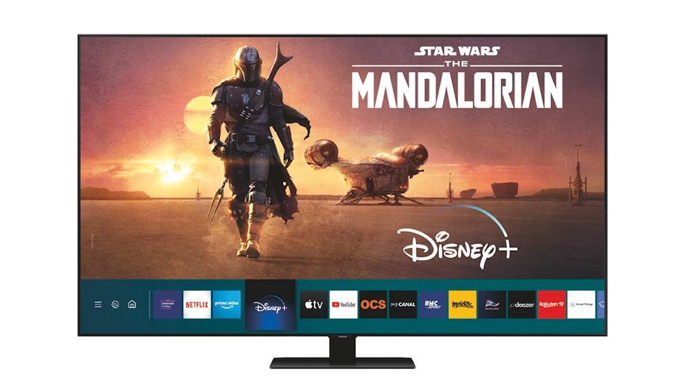 L'interface Tizen des TV Samsung