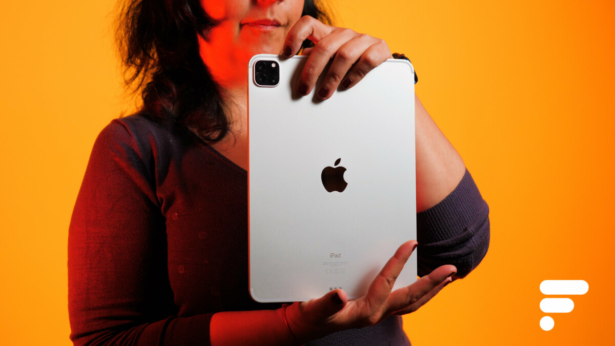 Le module appareil photo de l'iPad Pro 11 pouces 2021