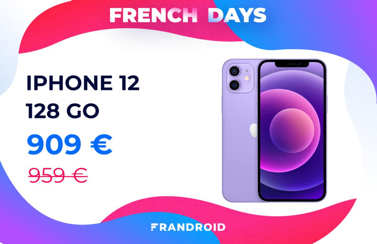 iphone 12 mauve french days 1200x777 - Amazon fait aussi les French Days avec des tonnes de promotions dans son catalogue