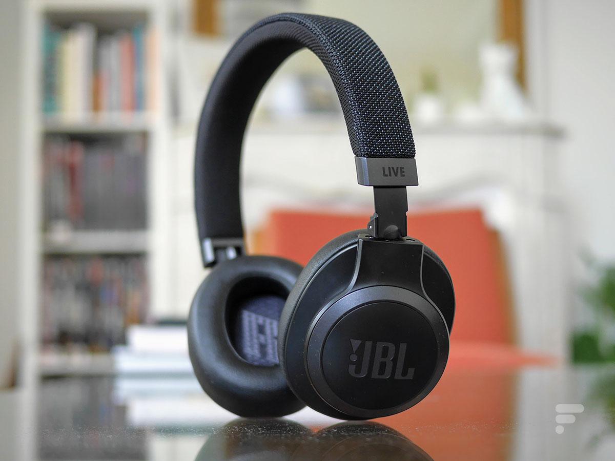 Le casque JBL live 660NC