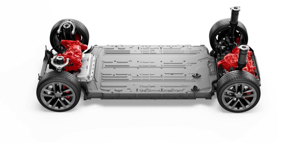 Le groupe Motopropulseur de la Tesla Model S Plaid