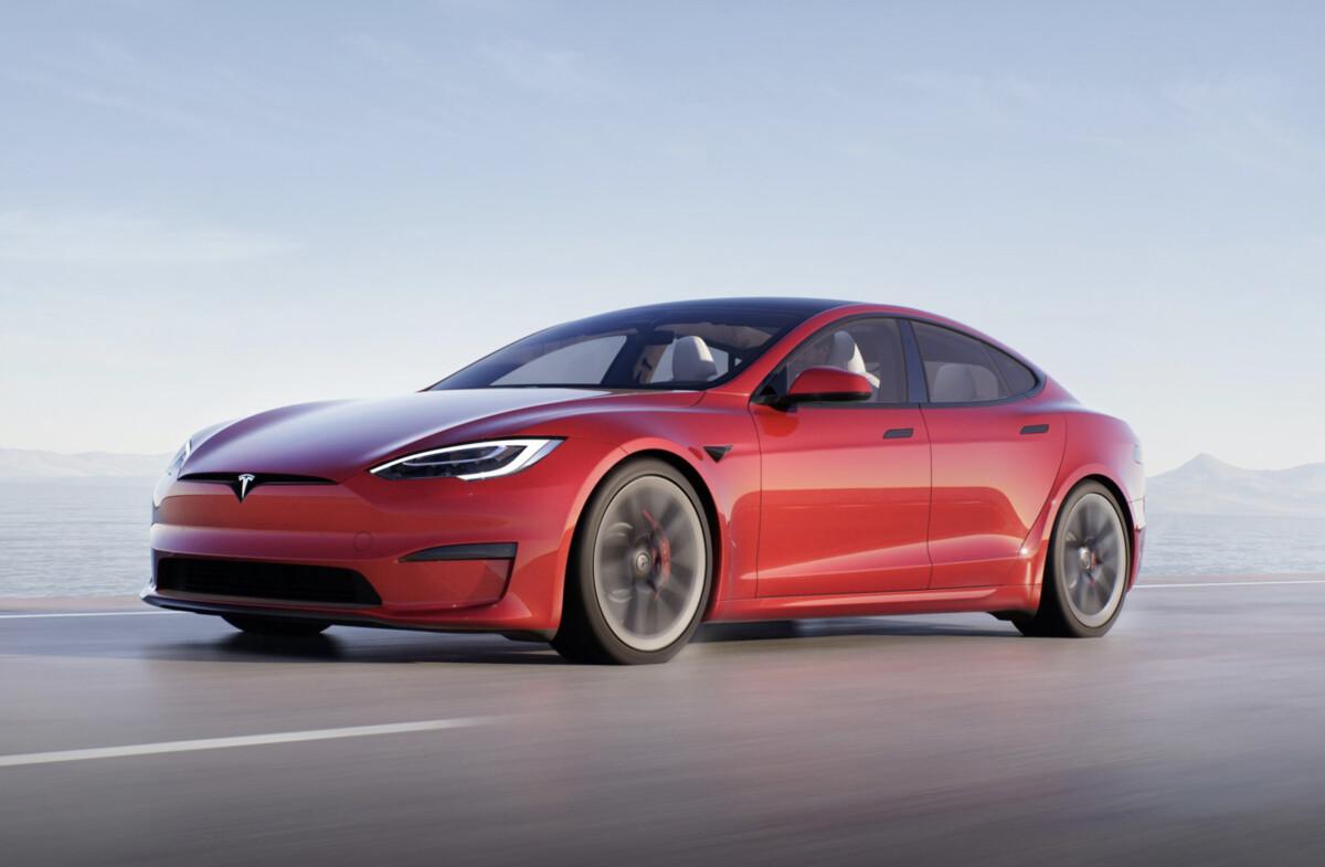 La nouvelle Tesla Model S Plaid