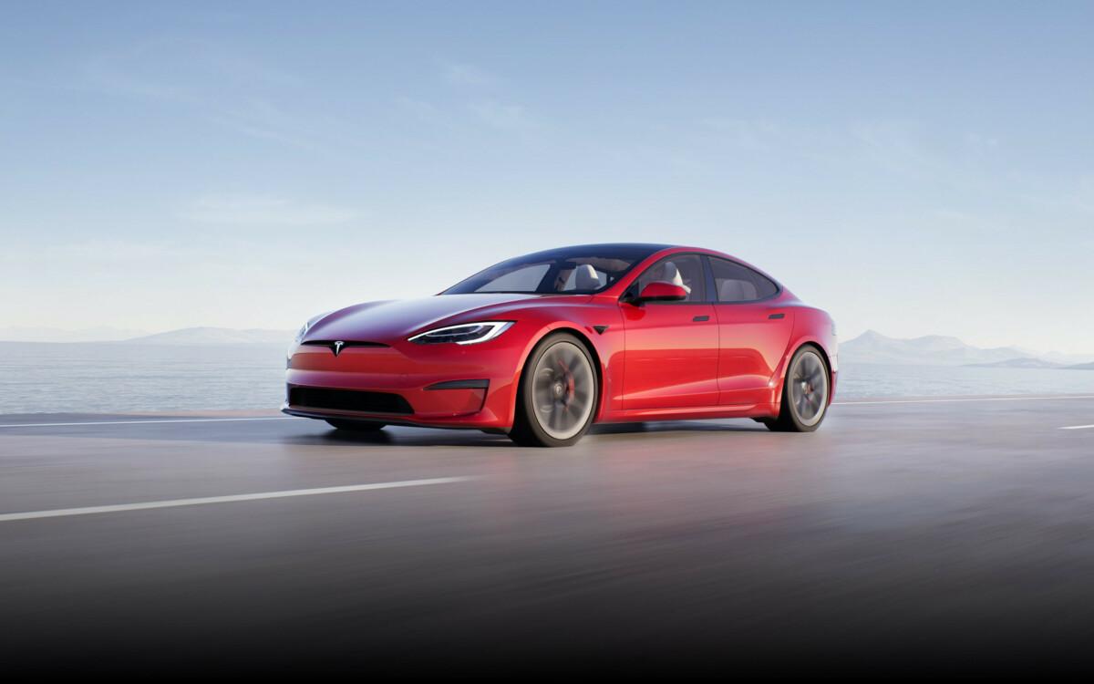 model s rouge 1200x750 - Un capteur Lidar repéré sur une Tesla: pourquoi il ne faut pas s'enflammer