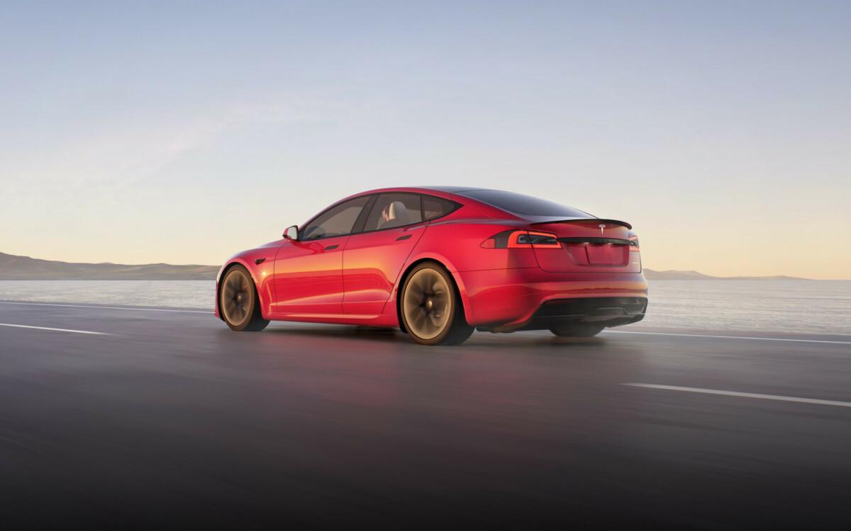 La nouvelle Tesla ModelS 2021