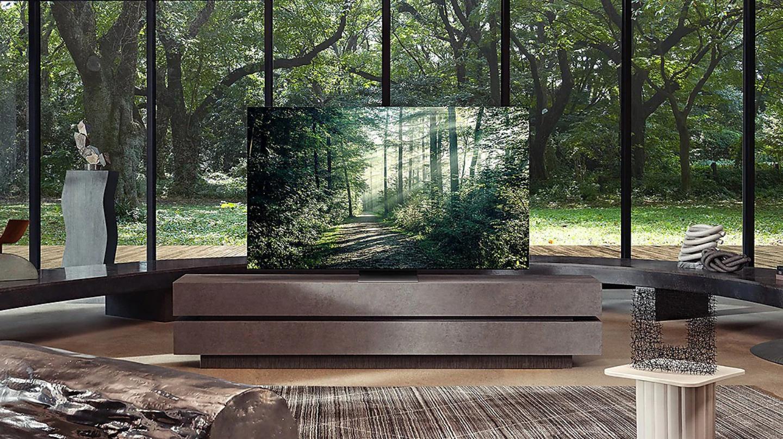 Pour illustration, l'un des derniers téléviseurs 8K Neo QLED de Samsung