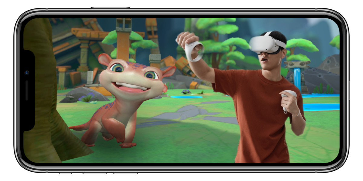 Add yourself to your virtual reality game