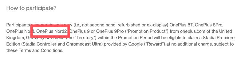 OnePlus Nord2 : le constructeur confirme son existence et son nom par erreur