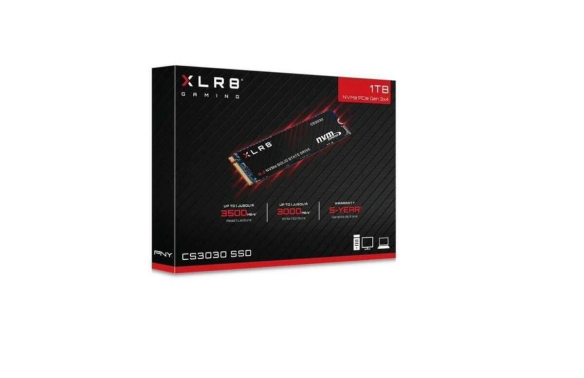 Dysk SSD NVMe o pojemności 1 TB to najlepszy stosunek pojemności do pojemności