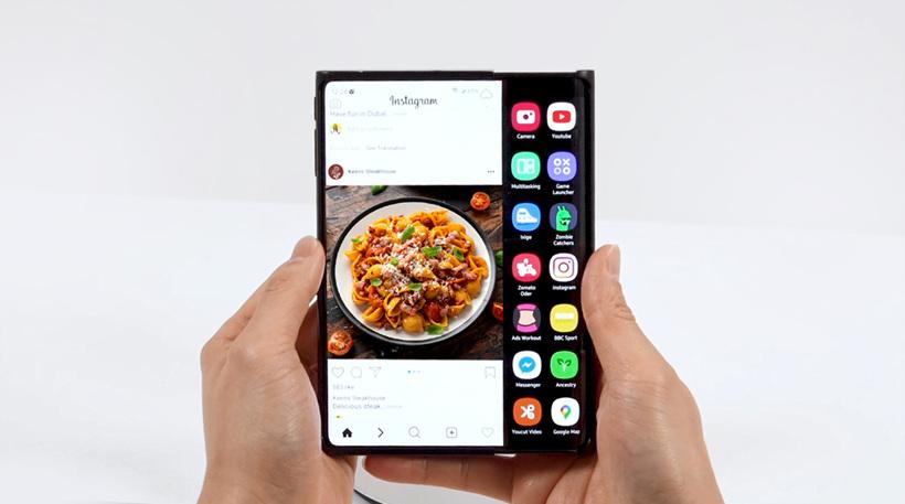 Le smartphone coulissant de Samsung Display