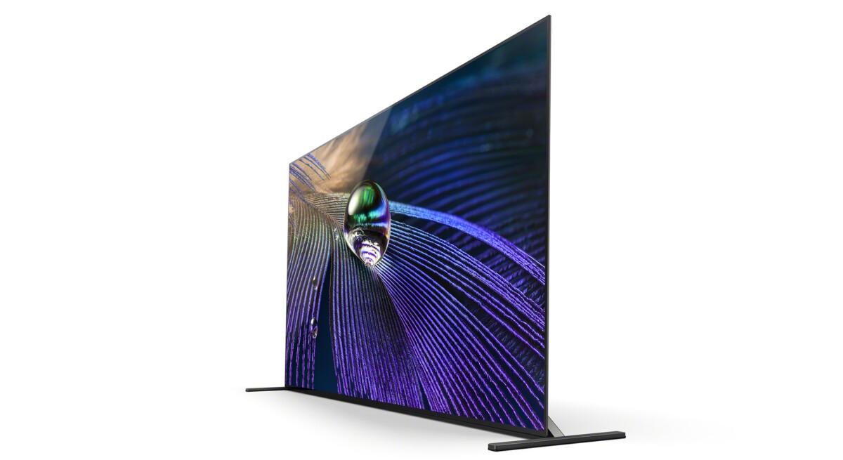 Une téléviseur assez fin et très classe / Source: Sony