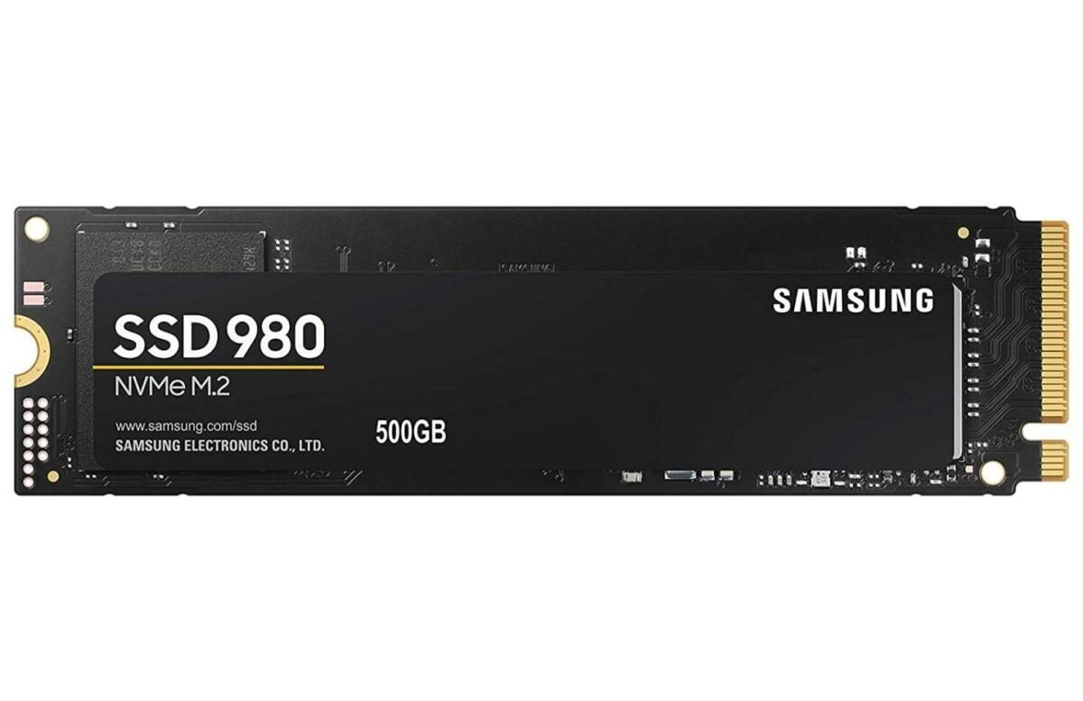 Les prix des SSD NVMe Samsung 980 sont au plus bas, avec 500 Go ou 1 To de stockage