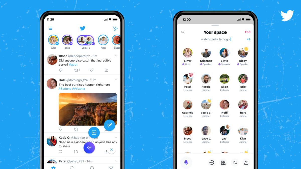 Spaces arrive sur iOS et Android pour le plus grand nombre