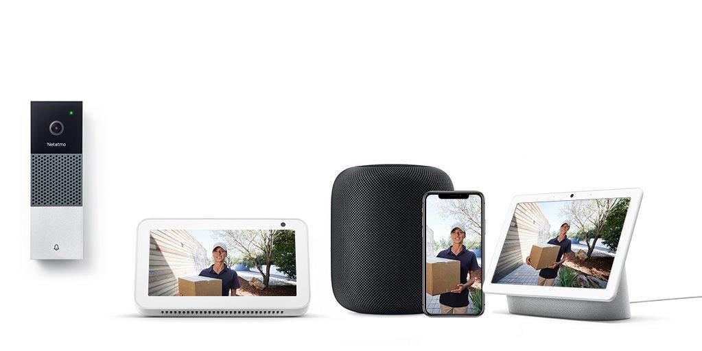 La Sonnette Vidéo Intelligente peut désormais fonctionner avec Alexa, Siri et Google Assistant