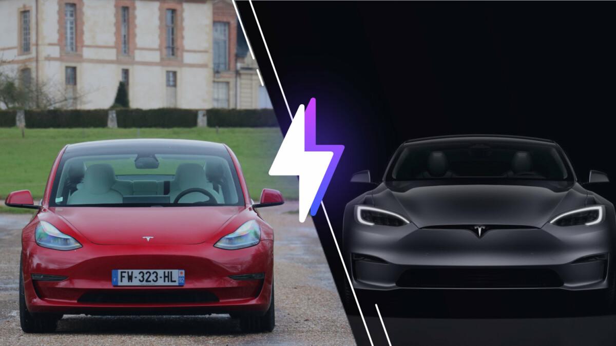 Tesla Model 3 vs Tesla Model S
