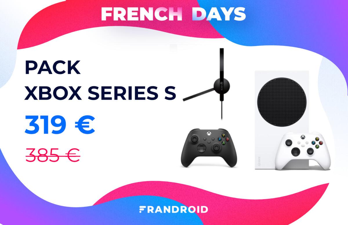 Fnac baisse encore plus le prix du pack Xbox Series S pour les French Days