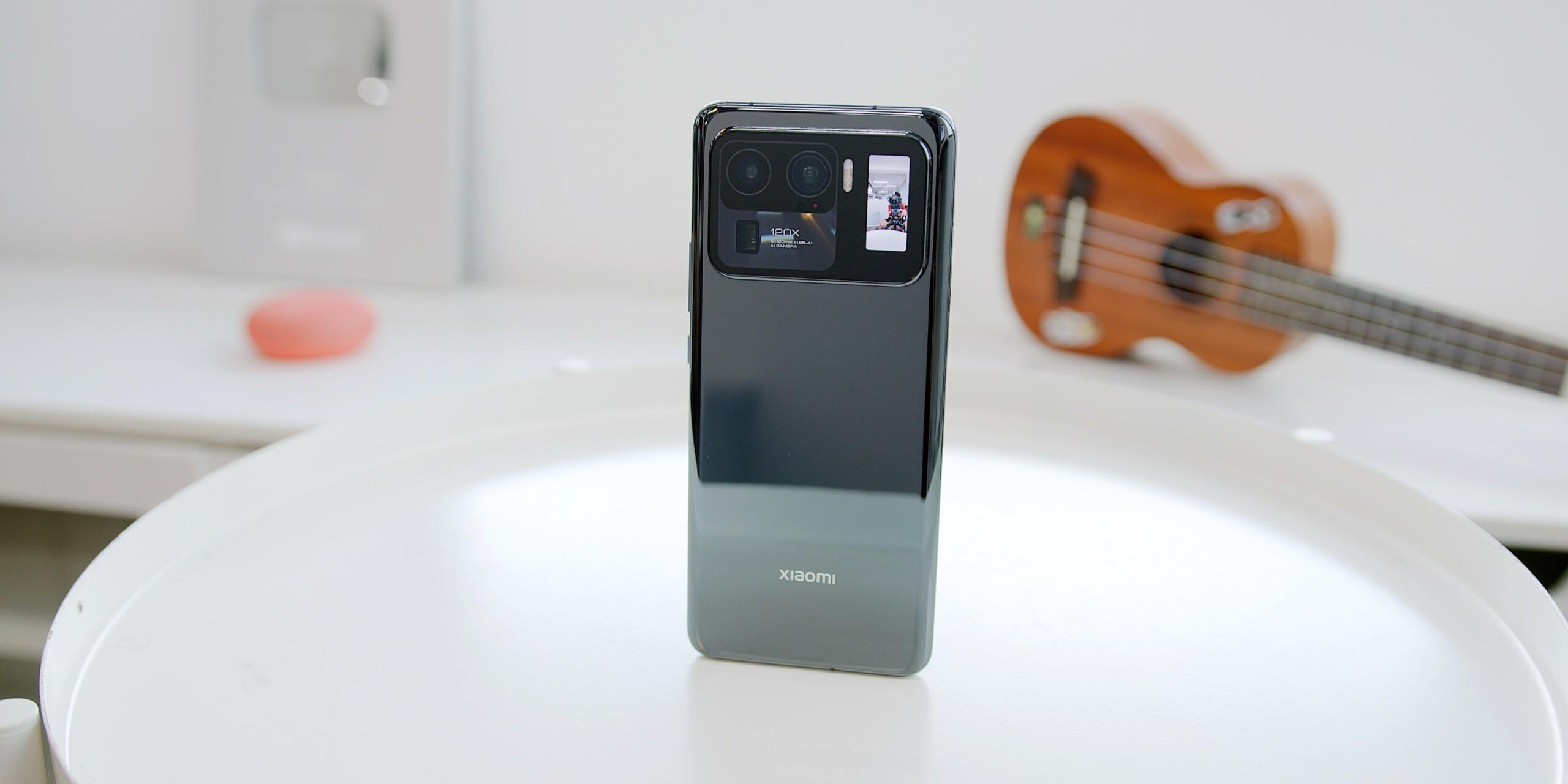 Le tout dernier Xiaomi Mi11 Ultra que l'on a testé en mai 2021