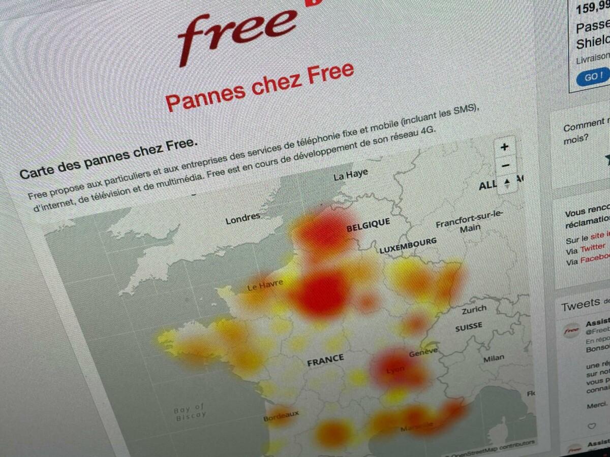 Panne d'internet chez Free : si c'est très lent actuellement, vous n'êtes pas les seuls