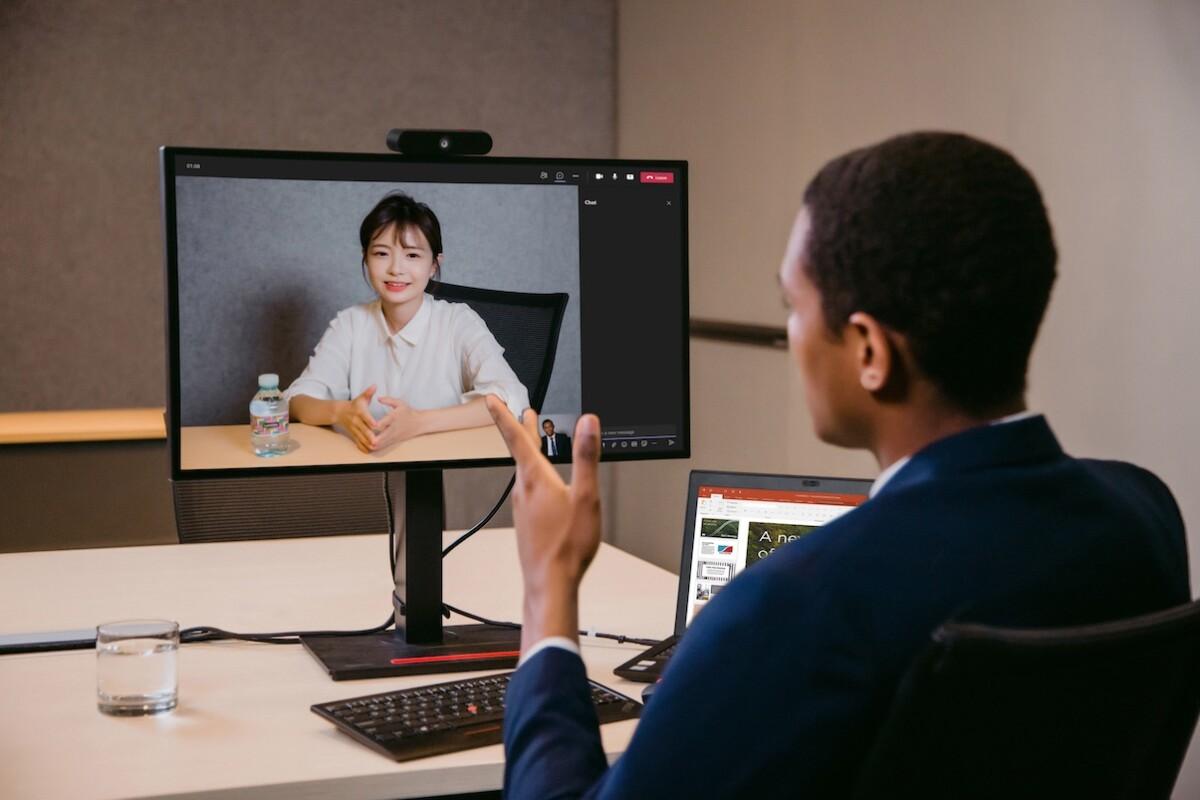 La webcamMC50 a des velléités plus professionnelles