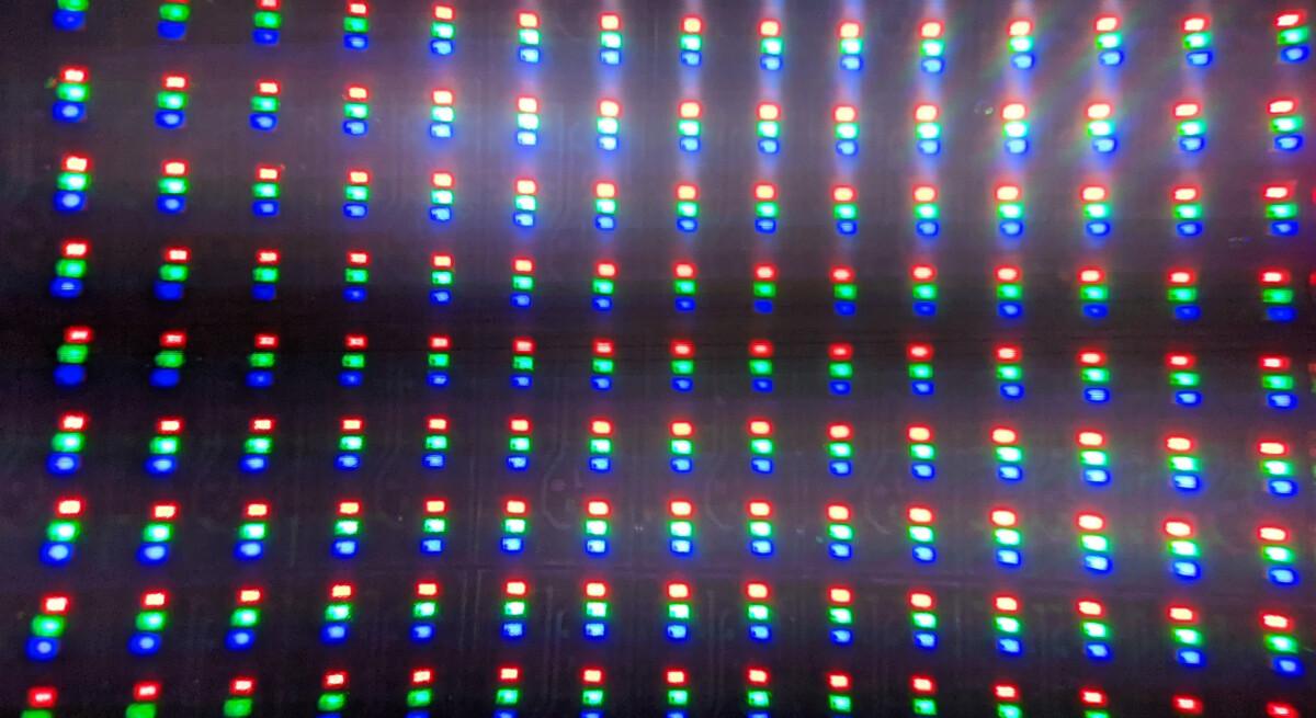 La structure des sous-pixels du Micro LED / Source: David Nogueira
