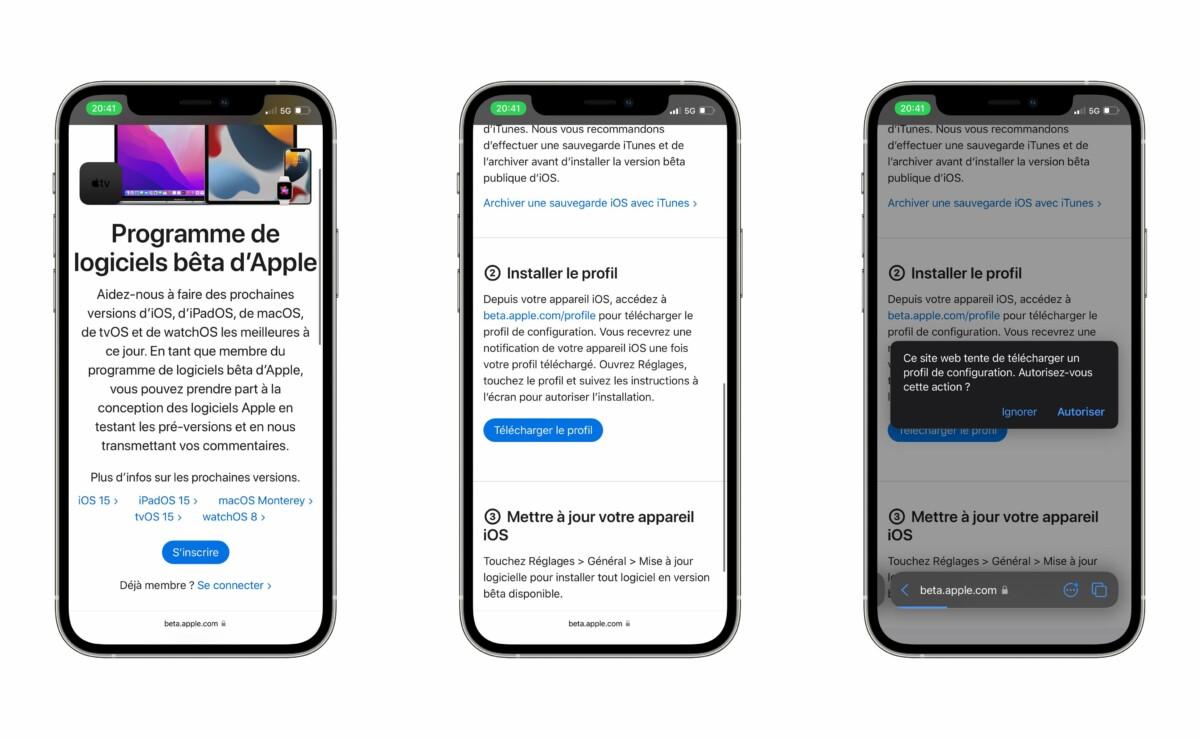La bêta publique d'iOS 15 pour iPhone et iPadOS 15 pour iPad est disponible