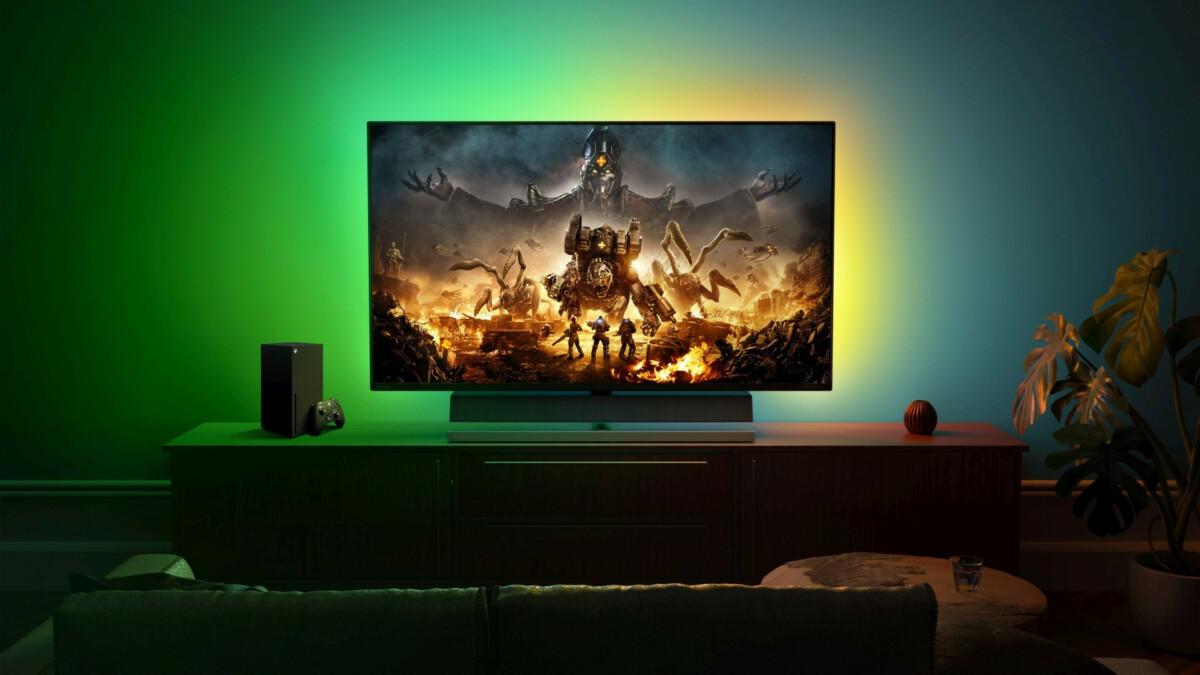 Certains moniteurs comme le Philips Momentum sont désormais certifiés compatibles avec les Xbox Series