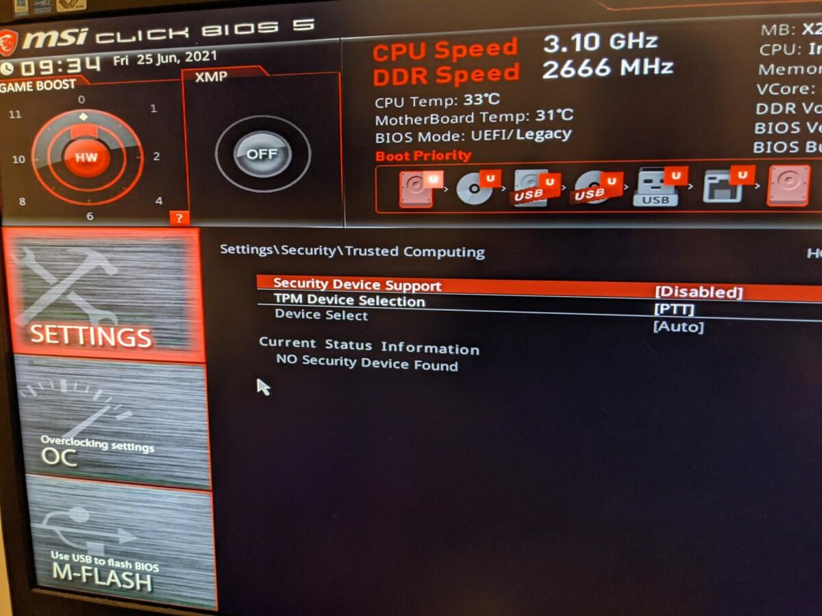 Windows 11 et TPM 2.0: c'est quoi? À quoi ça sert? Est-il nécessaire? Comment l'activer?