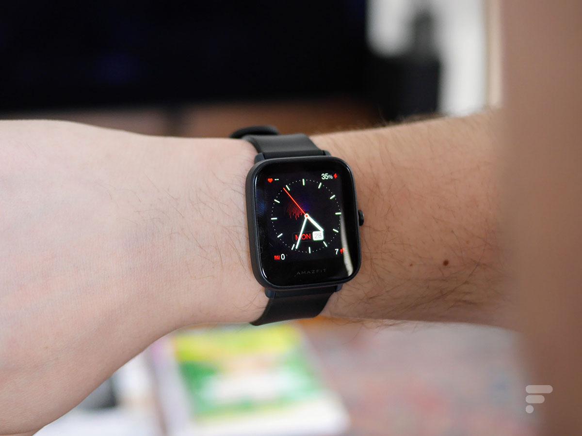 La montre Amazfit Bip U Pro