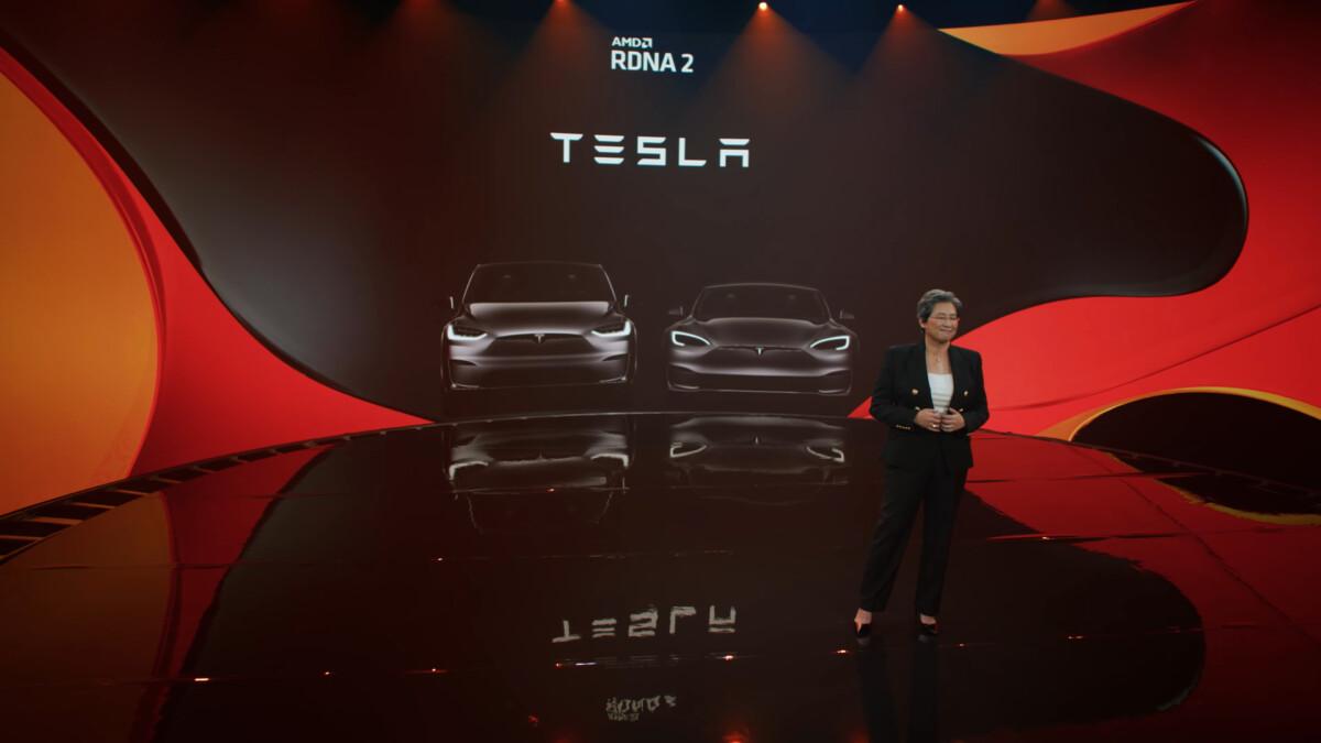 Tesla et AMD : la console de jeu intégrée des Model S et X est puissante, pratique pour les jeux AAA
