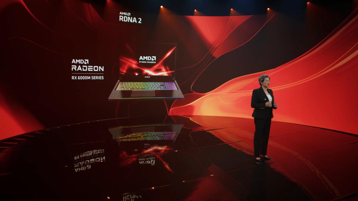 Radeon RX 6000M : AMD lance enfin ses GPU RDNA 2 sur PC portables