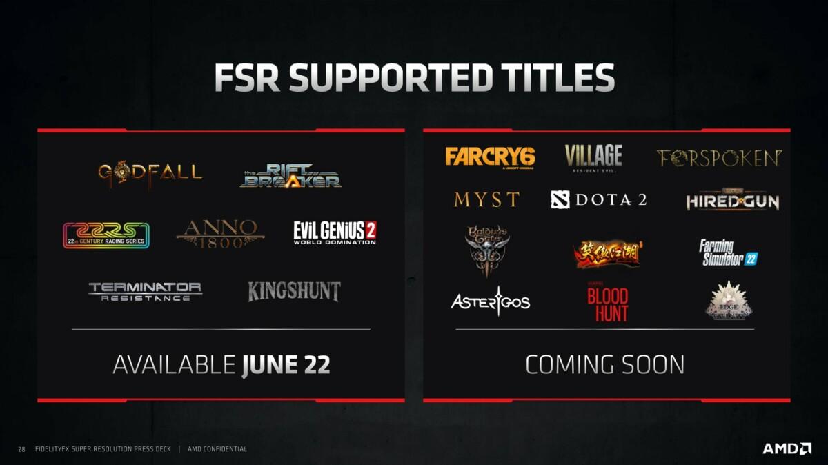 On a testé AMD FidelityFX Super Resolution: le rival de Nvidia DLSS est là