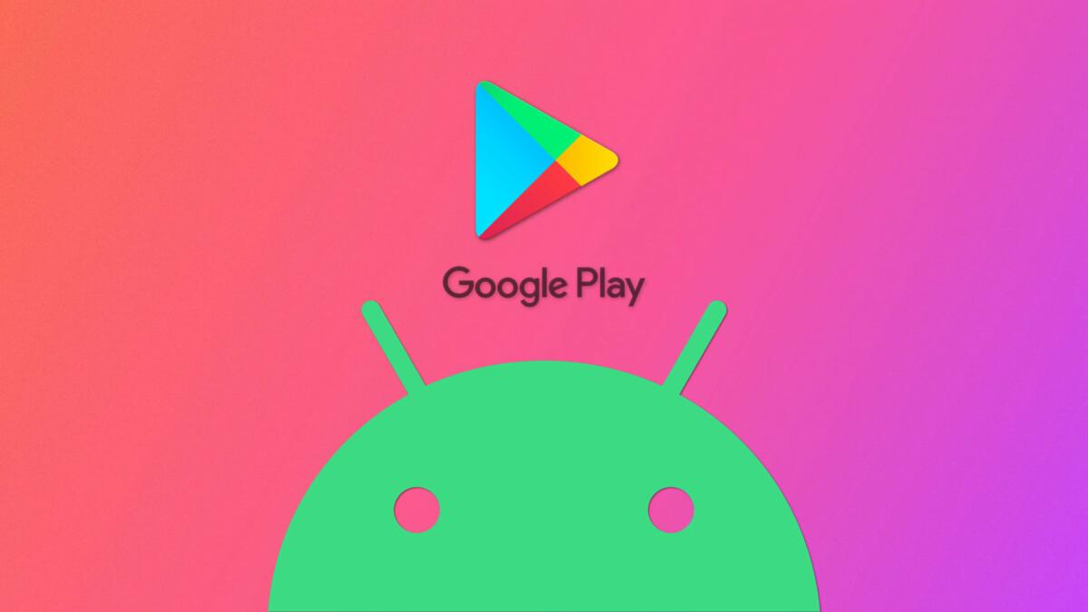 Les logos du Play Store et d'Android
