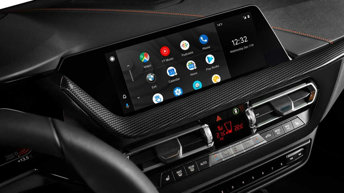 Mobil Android di BMW