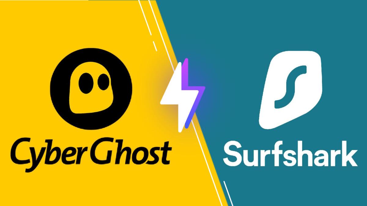 Versus VPN pour Surfshark et Cyberghost
