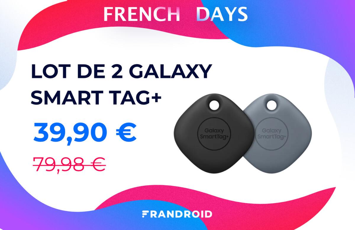 French Days : achetez deux Samsung Galaxy SmartTag+ pour le prix d'un