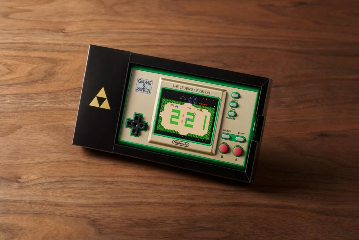 The Legend of Zelda revient en Game & Watch