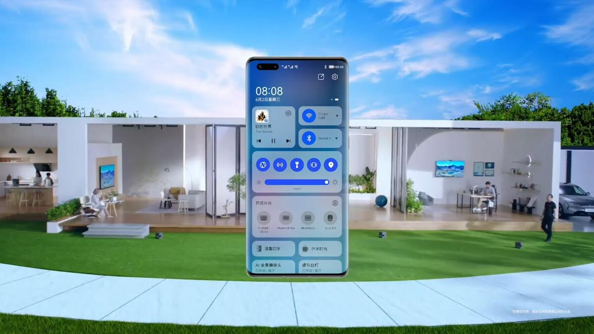 HarmonyOS di smartphone