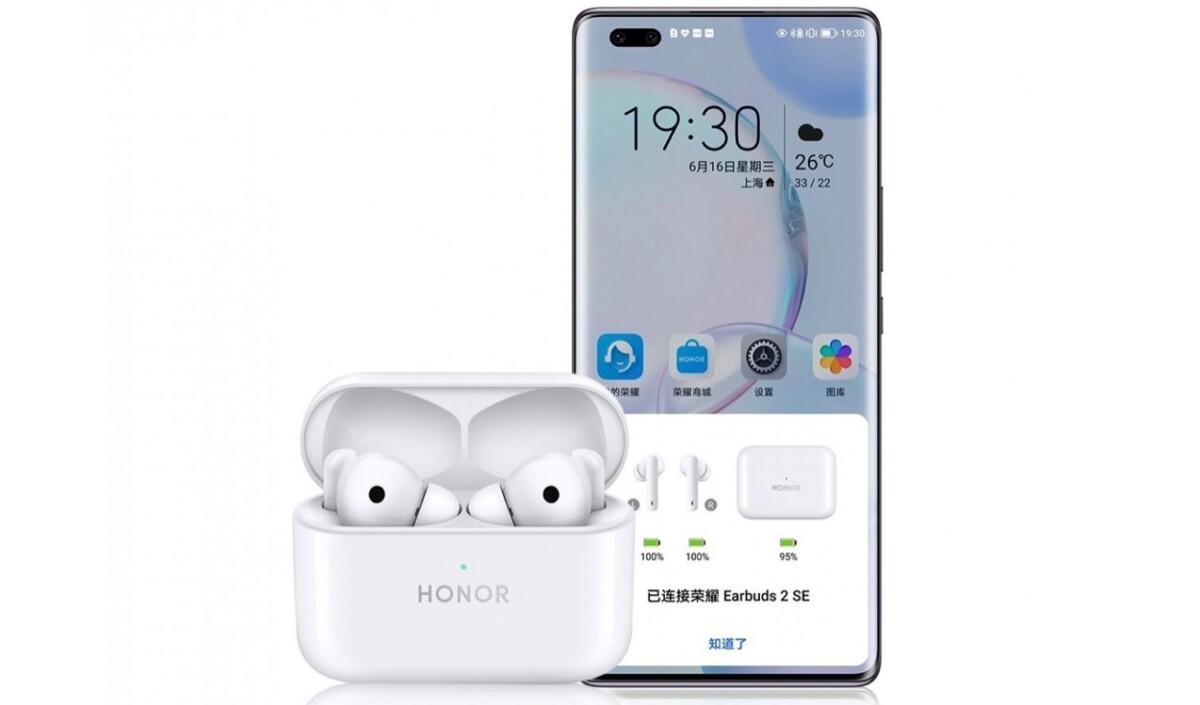 Voici les Honor Earbuds2 SE, les premiers écouteurs True Wireless d'Honor depuis sa séparation avec Huawei