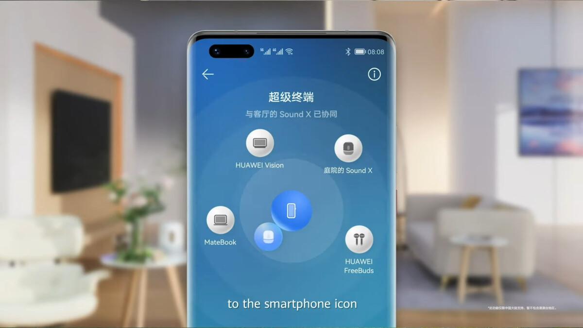Huawei HarmonyOS : voici un aperçu officiel de l'interface des P50