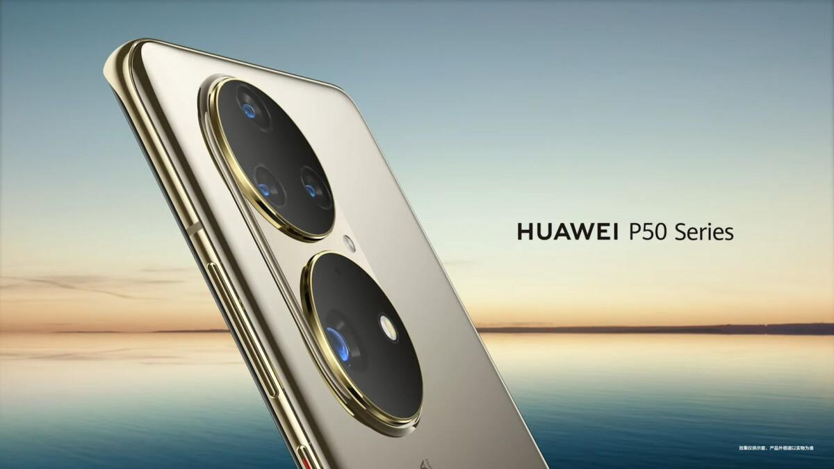 Huawei P50 et P50 Pro
