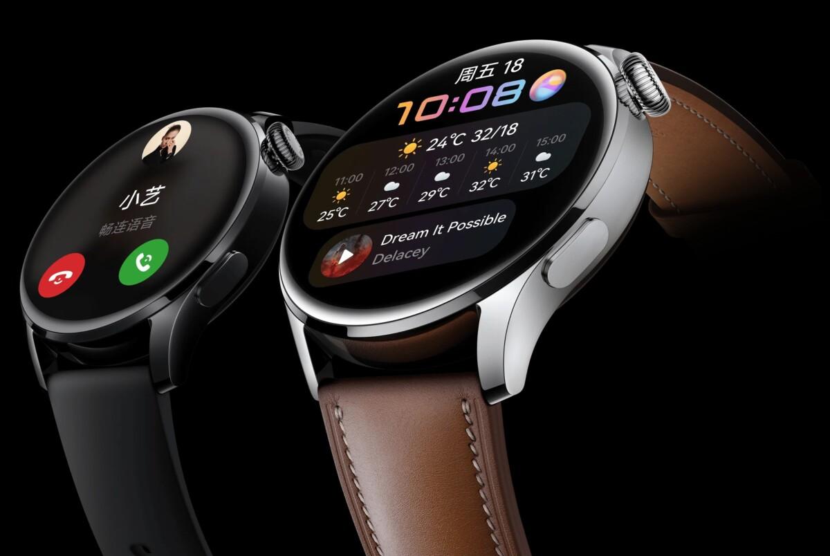 La Huawei Watch 3