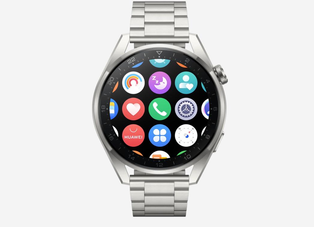 L'interface en grille de la Watch Watch 3