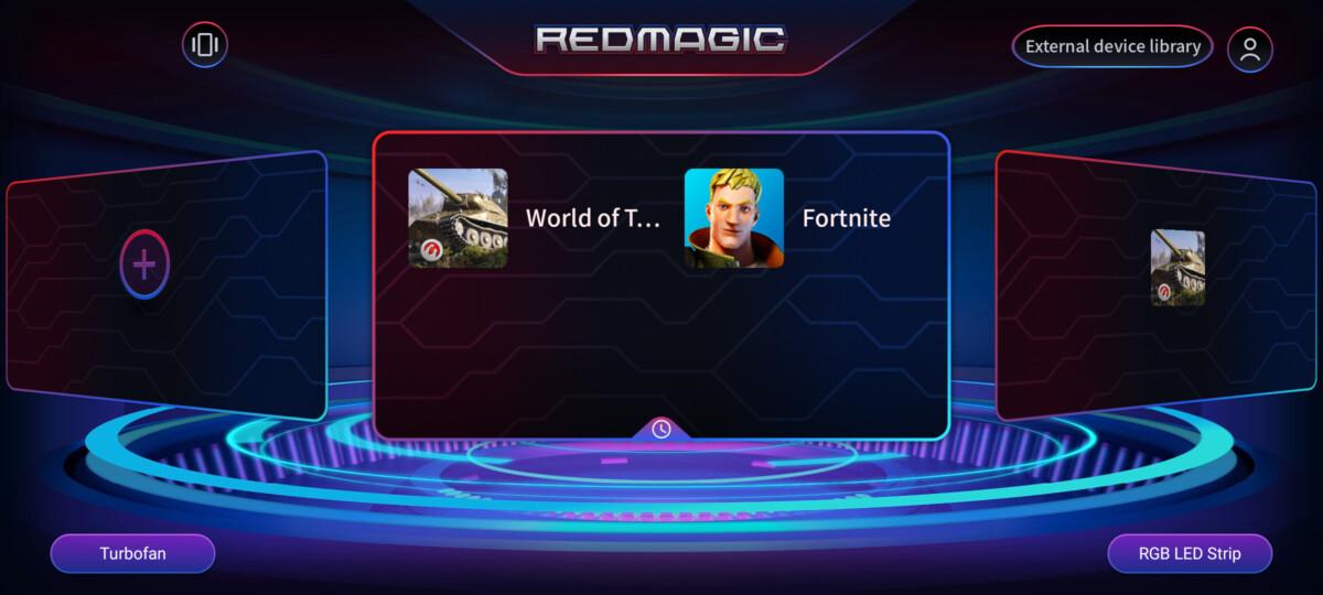 L'interface qui permet de lancer les jeux est plutôt simple d'utilisation.
