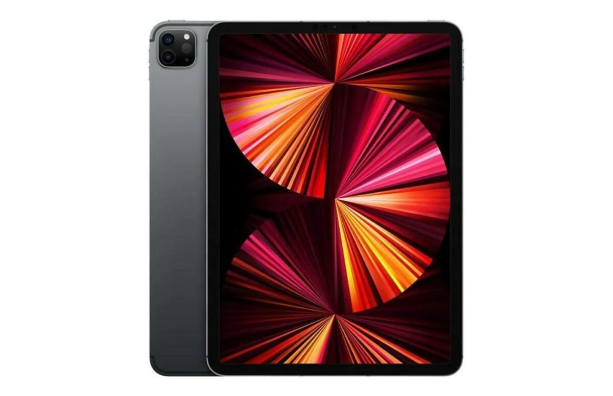 L'iPad Pro M1 d'Apple dans son coloris gris sidéral - modèle 2021