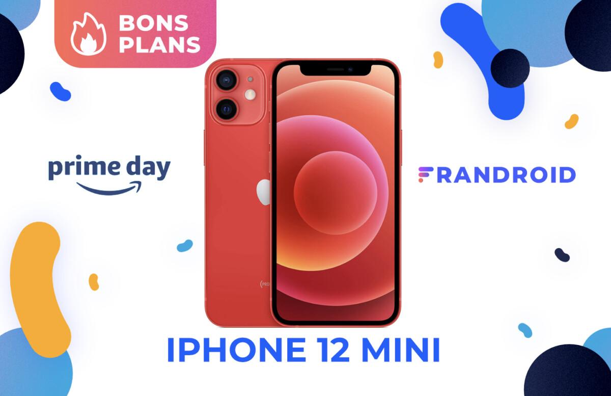 Promotion pendant le Prime Day sur Amazon pour l'iPhone 12 mini