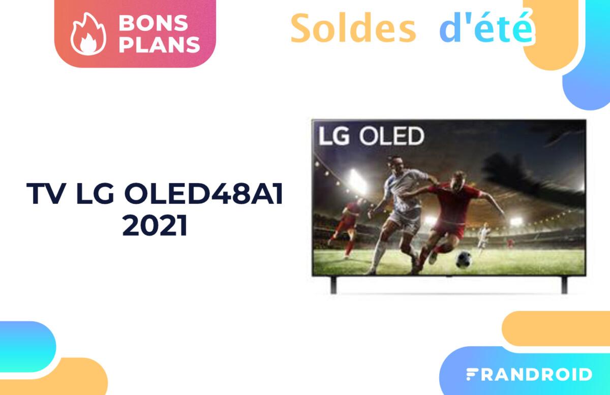 TV 4K : le «petit» modèle OLED de LG en 48 pouces est soldé