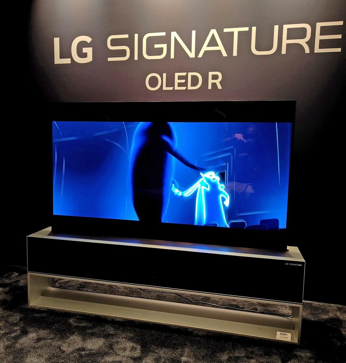 LG Signature OLED R : nos impressions sur le TV enroulable à 100 000 euros