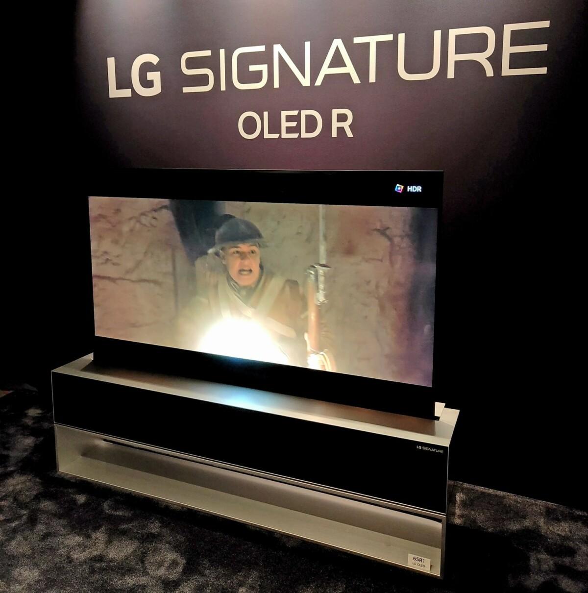 Une image aussi belle que celle proposée sur la série LG C1.